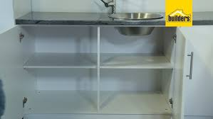 kitchen sink and cabinet unit how to assemble the builders pride standard built in
