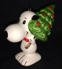 vintage snoopy ornament united feature syndicate