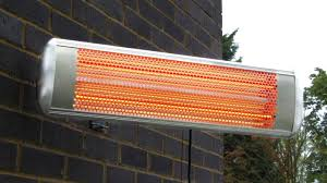 1 8kw halogen bulb electric infrared wall mounted heater with