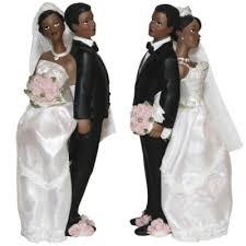 figurine mariage mixte sujet gateaux mariage black créole