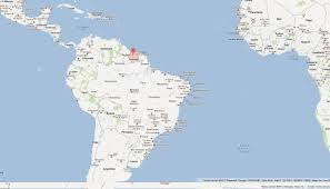 Map Of Cancun Suriname Map