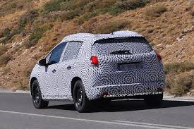 peugeot 2008 crossover spied peugeot 2008 is a small crossover based on the new 208