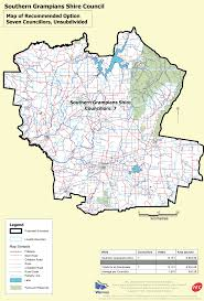 The Shire Map Southern Grampians Shire Council Representation Reviews
