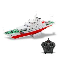 free shipping china coast guard ship 2 4g electric remote control