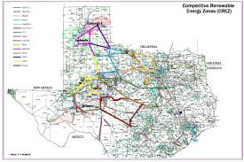 Lackland Afb Map Competitive Renewable Energy Zones Crez Electric Transmission