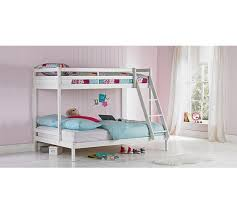 Buy HOME Kaycie Single And Double Bunk Bed Frame White At Argos - Double bunk beds