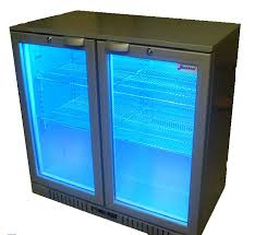 glass door bar fridge perth beerkool silver two door alfresco under bench fridge perth