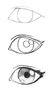 how to draw anime eyes 2 drawings pinterest girls eyes