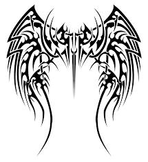 tribal wings designs wing tattoos designs ideas