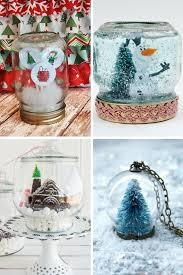 snow globe crafts ideas for your holidays 14 diy craft projects