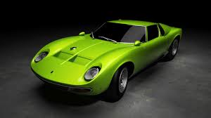 modified lamborghini modified lamborghini miura sv pls crit finished work 3d stills