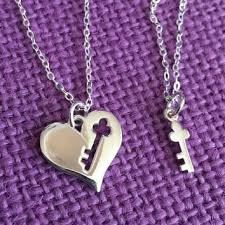 and me necklace best key to my heart jewelry products on wanelo