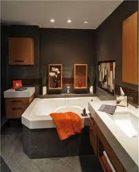 Orange Bathroom Ideas Colors Bathroom U003c3 Only Going A Little Lighter Orange U0026 Brown Together