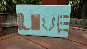 valentines day sign country love hunting gifts country home