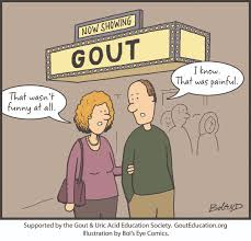 funny beer cartoon gout cartoons