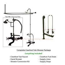 Oil Rubbed Bronze Clawfoot Tub Faucet Cheap Shower Curtain Rod Bronze Find Shower Curtain Rod Bronze