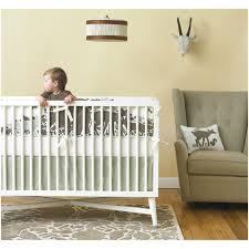dwell studios mid century crib french white