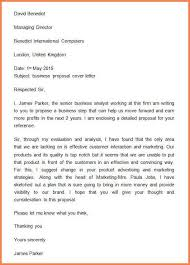10 proposal cover letter template example budget proposal