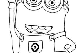 cute despicable minion coloring pages colorings