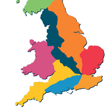 England Train Map by Our Routes Network Rail