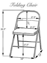 Metal Folding Chair Covers Folding Chair Dimensions For Sashes Wedding Pinterest
