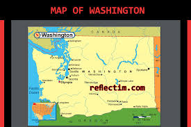 Map Of Spokane Map Of Washington Travel