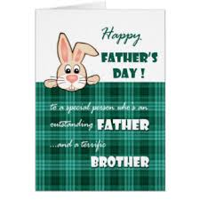 Brother Design Cards For Brother On Fathers Day Greeting Cards Zazzle