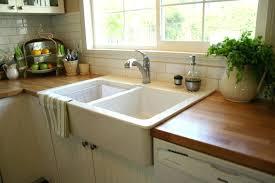 ikea farmhouse sink installation ikea farmhouse sink inch white apron front kitchen sink apron sink