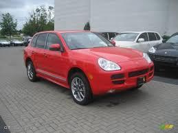 2006 Porsche Cayenne - 2006 pure red porsche cayenne s titanium 16478890 gtcarlot com
