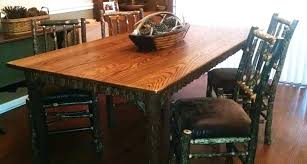 hickory dining room chairs hickory dining room table hickory farmer dining set rustic hickory