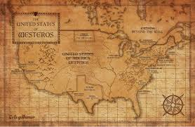 Usa Map With Capitals And States by Understanding Game Of Thrones As An American Collegehumor Post