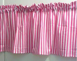 Zebra Valance Curtains Pink Valance Etsy