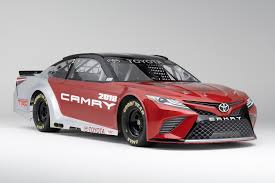 Dodge Challenger Nascar - 2018 toyota camry gets prepped for nascar duty