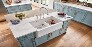 how to install an apron sink in an existing cabinet blanco ikon farmhouse sinks blanco