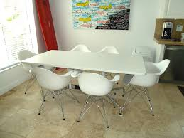 Molded Dining Chairs Eames Plastic Molded Dining Chair Eames Dining Table By Flickr