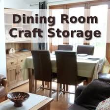 Storage Solutions For Craft Rooms - my dining room craft storage solutions hubpages