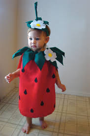 Strawberry Halloween Costume Baby Strawberry Costume Kids Costume Halloween Thecostumecafe