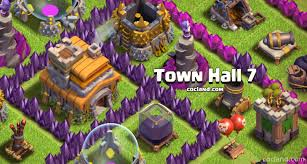 amazing clash of clans super advanced town hall 7 guide clash of clans land