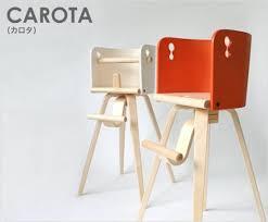 Baby Furniture Chair Carota Wooden High Chair By Sdi Fantasia Furniture Kids