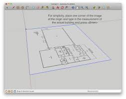 how to build a building starting from a floor plan in google