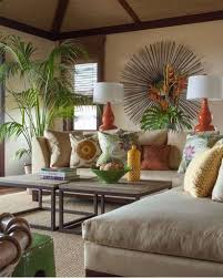 themed living room ideas tropical themed living room ideas with palm potted plants and