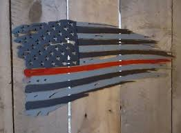 american flag home decor tattered american flag home decor metal art 59 99 picclick