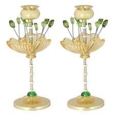 candlesticks by israeli artists sabbath candlesticks judaica