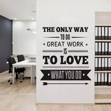 Office Decor by Office Decor Typography Inspirational Quote Wall Decoration Art