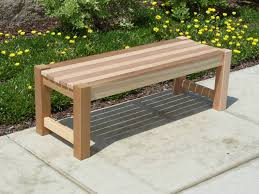 innovative outdoor bench no back outdoor backless bench