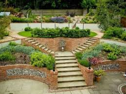 Backyard Plants Ideas Garden Designs Steep Slope Garden Design Ideas Hillside