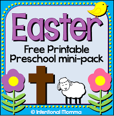 free printable easter mini pack for preschool faithful provisions