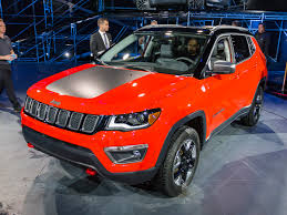 red jeep compass 2017 jeep compass unveiled on sale next spring kelley blue book