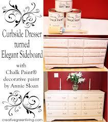 how i transformed a curbside dresser into an elegant sideboard