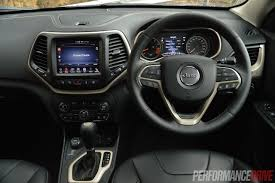 jeep cherokee xj dashboard 2014 jeep cherokee limited review video performancedrive